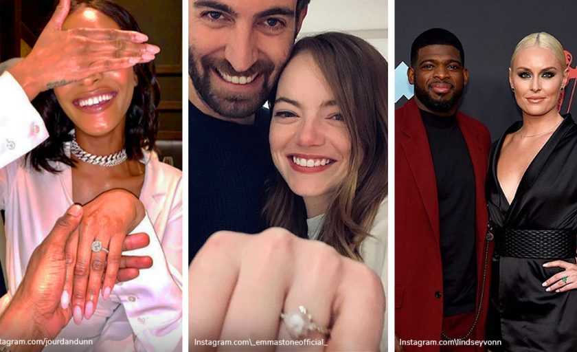 Celebrity Engagement Rings: Our New Favorites