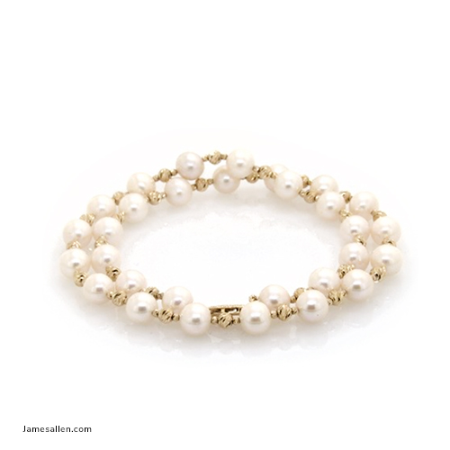2020 Emmy Awards -  Cultured Pearl & Textured Bead Necklace