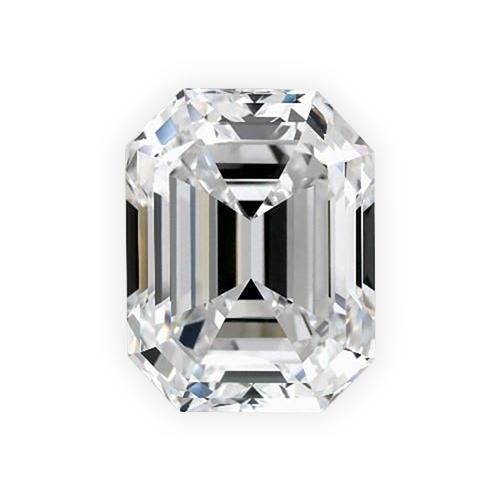 Emerald Cut Diamond - Viewable In 360° HD
