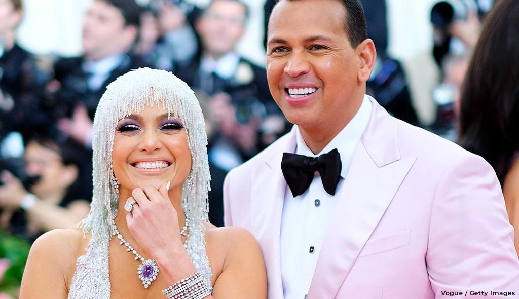 Jennifer Lopez's Engagement Ring and Arod