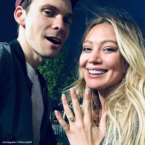 Instagram - Hilary Duff Engagement Ring blog post